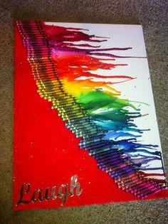 crayola color canvas Rainbow by ColorMeTiffany on Etsy, $45.00