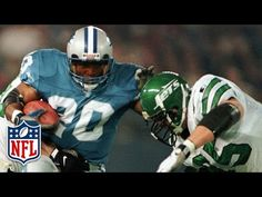 Barry Sanders' Magical 2,000-Yard Season (1997) | This Day in History (12/21) | NFL NOW - YouTube