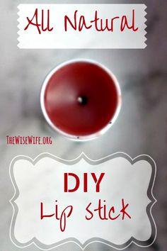 DIY Natural Lip Tint with Cocoa Butter