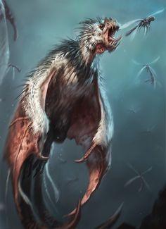 Pygmy Wyvern by Raph04art