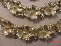 Vintage Star Gold Tone Metal Adjustable Necklace Bracelet