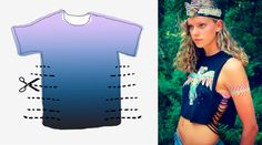 5 DIY Summer Ideas to Cut your T-shirts