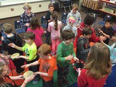 rr John Kanaka: Circle Dance with Tambourines - Music Education Games, Music Activities, Movement Activities, Singing Lessons, Dance Lessons, Singing Games, Elementary Music Lessons, Elementary Schools, Preschool Music