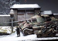 """Last Snowfall 1944"" By Modeler Roberto Agiullero 1:35 Scale"