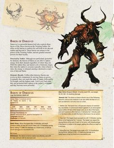 D&D 5e Magic Items and Custom Monster   Demonic Encounters   Nerd Sourced