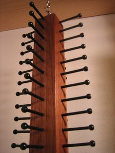Spinning Tie Organizer by HartmanTieRacks on Etsy, $45.00