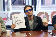 How will Bucky celebrate his 99th birthday? Which is today BTW. —bisexualhorrorstory