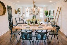 45 Ideas Farmhouse Living Room Decor Joanna Gaines Renovation For 2019 45 Ideen Bauernhaus Woh. Home Design, Design Food, Design Ideas, Interior Design, Interior Doors, Interior Ideas, Joanna Gaines, Room Paint Colors, Paint Colors For Living Room