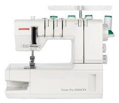 Cover Pro 2000 CPX - Die Neuauflage des beliebten Klassikers! Die 2. Generation einer der weltweit meist verkauften Covermaschinen überzeugt durch ihre einfache Bedienung kombiniert mit hervorragender...