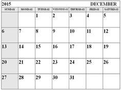 2015 Kalender Bedruckbare,