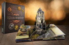 [Amazon] Livro Game of Thrones Um Guia Pop-Up de Westeros R$38,90