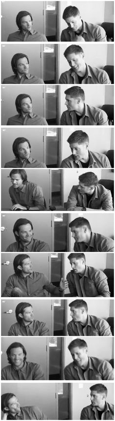 [gifset] Jensen Ackles and Jared Padalecki preview what's to come for Supernatural Season 9