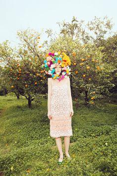 flowers & oranges