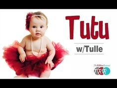 How to Make a Tutu With Tulle - TheRibbonRetreat.com - YouTube