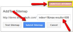Submit a sitemap to google Webmaster Tools, Online Income, Blogger Templates, Ads, Google