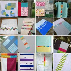 I love to make quilt tops (which is probably why I have about 6 that are waiting to be quilted). Sometimes, I get stuck when it comes to making a quilt back. In most cases, and especially with cha…