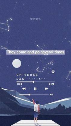 Korean Song Lyrics, Korean Drama Songs, Happy Music Video, Music Video Song, Lightstick Exo, Kpop Exo, Exo Music, K Pop Music, Selca Baekhyun