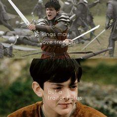 Kings may love treasons, but a traitor hates..