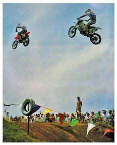 Jeff Stanton # Damon Bradshaw # Larocco's leap