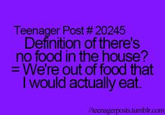 Seriously mom always tells me to eat carrots like I don't think so