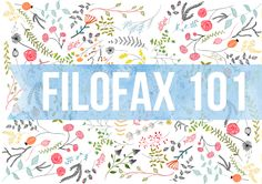 Filofax for dummies | Designs from the Black Forest