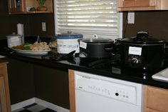 A Year of Slow Cooking: A CrockPot Party. Awesome idea! #dealyard #crockpots
