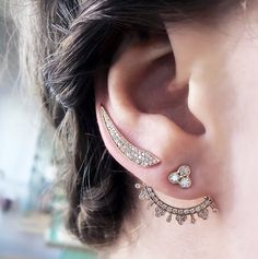 Carbon and Hyde Orchid Ear Jacket Set