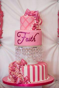 Glamorous Pink Princess Bat Mitzvah | http://www.beccarillo.com/bat-mitzvah-faith/