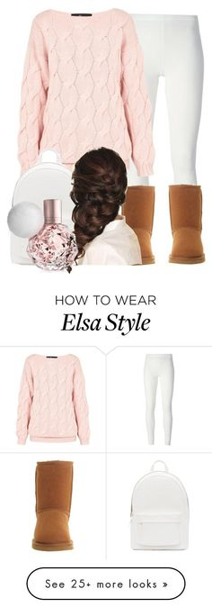 All Im trying to say is your my everything baby by kaybae2 on Polyvore featuring Rick Owens Lilies, AV by Adriana Voloshchuk, UGG Australia, PB 0110 and Disney