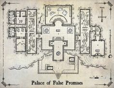 The Palace of False Promises (Colour Version with Labels)