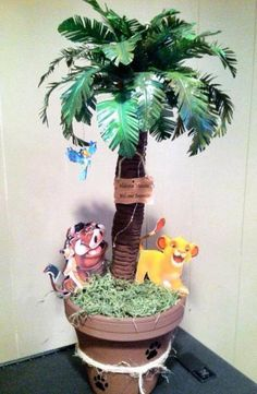 This is a wonderful unique party decoration centerpieces. Is made out of Styrofoam, pain and duck tape, high approximately This cold be personalized with your child name and age. I offer discount for more than one item just ask. Lion King Theme, Lion King Party, Lion King Birthday, Monkey Birthday Parties, Safari Birthday Party, Birthday Centerpieces, Birthday Decorations, Shower Centerpieces, Lion King Baby Shower