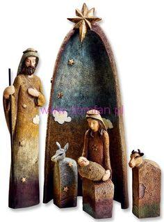 Szopka bożonarodzeniowa 5 elementów-Dekoracje świąteczne-DomFan.pl-10412054 79,90 zł
