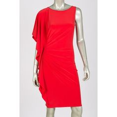 df4c5341c18 Joseph Ribkoff dress style 30034 - Red
