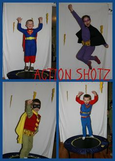 Collecting the Moments...Superhero birthday party