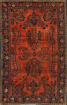 Persian Mohajeran Sarouk Rug at Emmett Eiland's Oriental Rugs