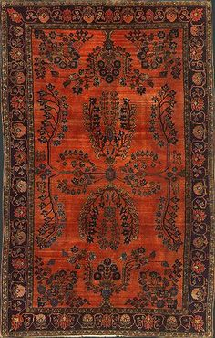 ~ Persian Mohajeran Sarouk rug