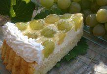 Prăjitură cu struguri şi budincă de vanilie Dairy, Pie, Cheese, Desserts, Food, Torte, Tailgate Desserts, Cake, Deserts