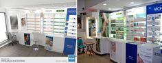 Masi Arquitectos locales, reformas, para perfumeria farmacias en zona sur