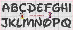 - bem vindos!!! - Dinha Ponto Cruz Fuse Bead Patterns, Beading Patterns, Perler Bead Art, Hama Beads, Letras Do Mickey, Alfabeto Disney, Plastic Canvas Letters, Crochet Letters, Special Letters
