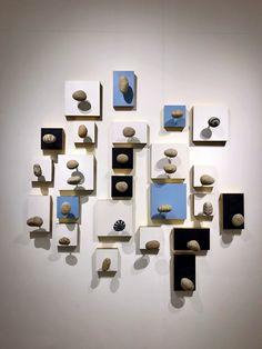 Installation 'Pebbles' in Kui Yuan gallery (Guangzhou)