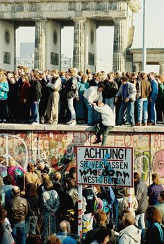 (above) The Berlin Wall, November 9, 1989. Walls are meant to separate, that is true. After all, it is an essential mission of the architect to 'define space', which means to construct limits, edge…