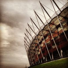 Found on Starpin #warsaw #stadium #stadionnarodowy