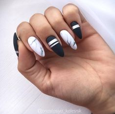 50 stunning acrylic nails inspiration - Page 36 of 50 - Rubyrui Summer Acrylic Nails, Best Acrylic Nails, Aycrlic Nails, Matte Nails, Nail Swag, White Nail Designs, Nail Art Designs, Funky Nail Designs, Nails Design