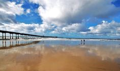 A beautiful shot of Ocean Beach Pier by 10 News Weather Watcher Jim Grant and featured on Meteorologist Pat Brown's fb page...  Our beaches are wide and clean and gorgeous!