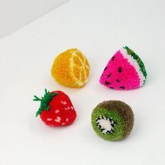 Des pompons fruités