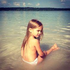 Anna Pavaga, Young Girl Fashion, Bikinis, Swimwear, Photo Wall, Beach, Wall Photos, Community, Tops