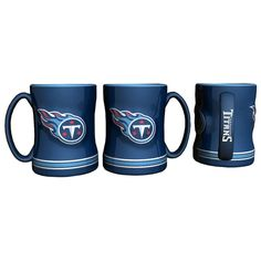 Boxed Relief Sculpted Mug - Tennessee Titans