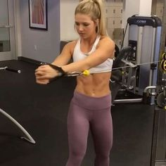 """5,125 Likes, 52 Comments - Workout Videos (@gymgirlvids) on Instagram: """"Vid by: @michelle_lewin Love this! Ladies tag yo fav & try this next gym sesh . When it's all…"""""""