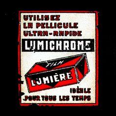 Pub pour la pellicule #Lumichrome #photographie #photography #publicité #ad