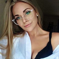 2019 Fashion Women Glasses Frame Vintage Clear Lens Glasses Optical Spectacle Frame Source by Frames Glasses Outfit, Fashion Eye Glasses, New Glasses, Glasses Online, Glasses Style, Glasses For Round Faces, Clear Glasses Frames Women, Cute Glasses Frames, Women In Glasses